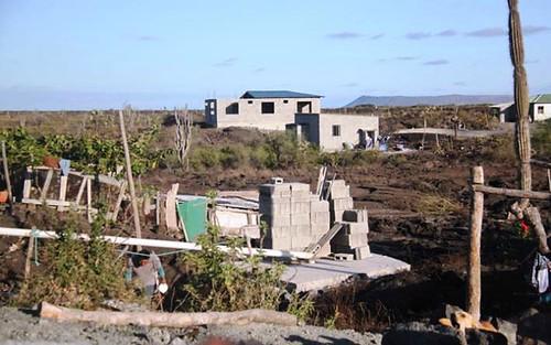 construction at El Mirador (courtesy of the Prince's Foundation)