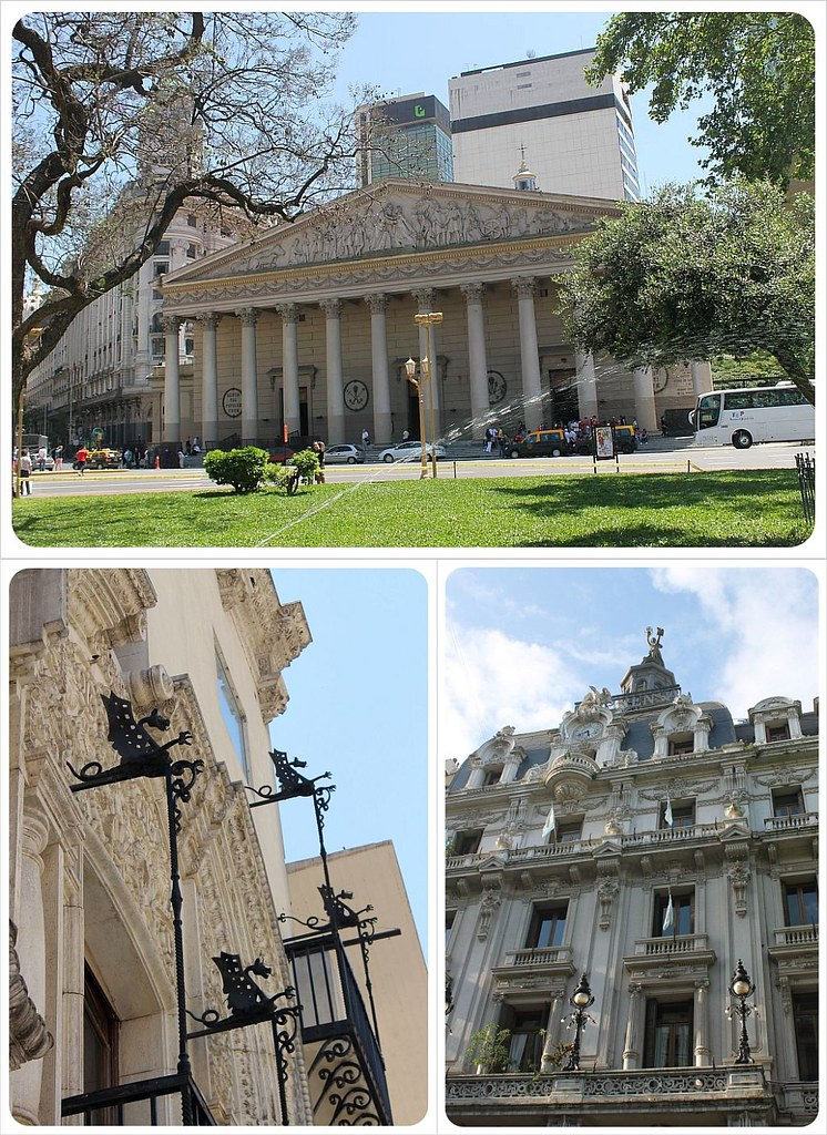 buenos aires argentina with cathedral