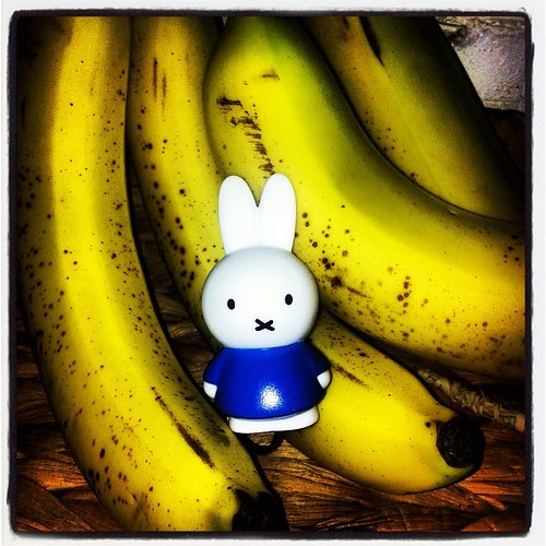 Miffy goes bananas.
