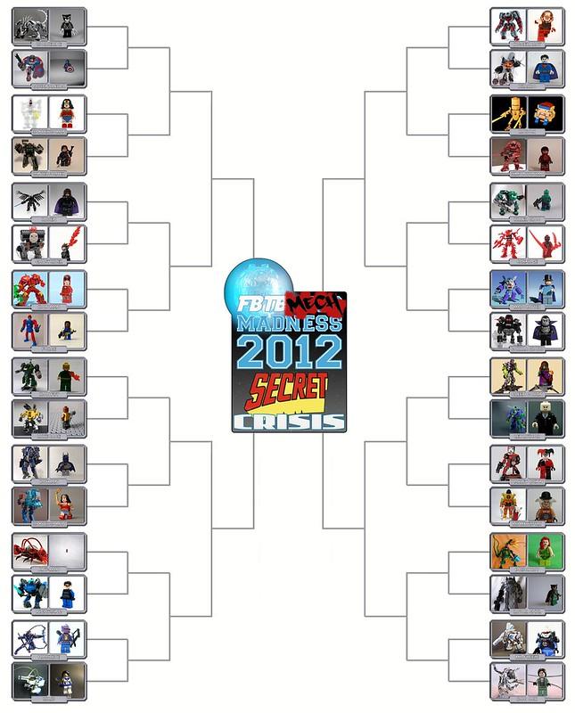 Mech Madness 2012 Bracket Round 1