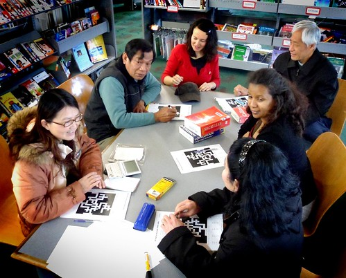 Social English at Ruth Gotlieb Library, Kilbirnie