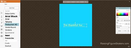 Adding Text in PicMonkey