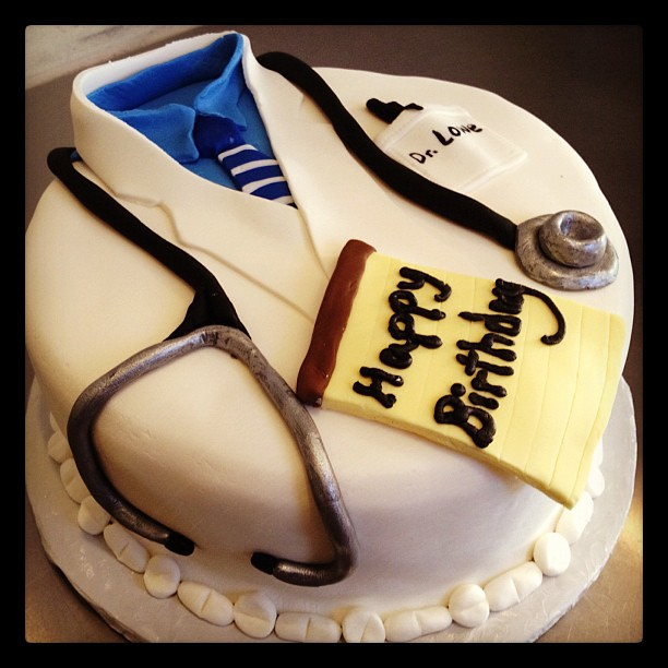 Birthday Cake For Psychiatrist Doctor