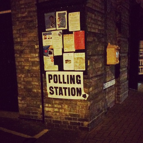 Polling Station.  Vote!