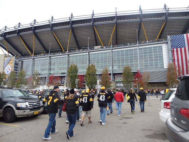 heinz field parking lot