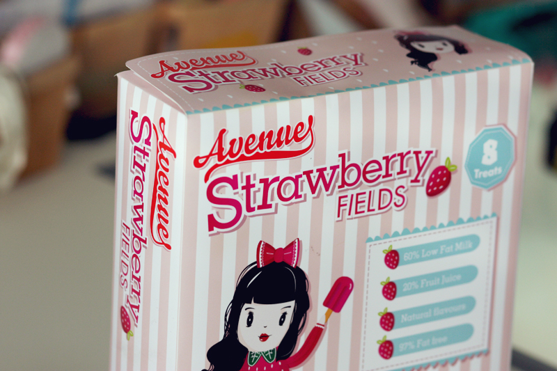 Ice Cream Box Design
