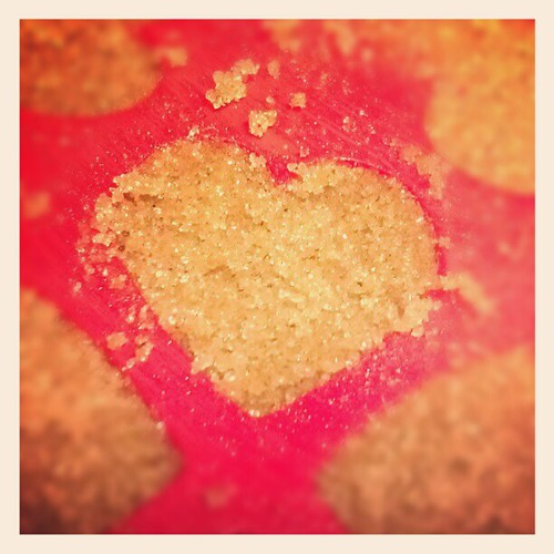 Hubatron is making PUMPKIN SPICED SUGAR HEARTS!! #deliciousness
