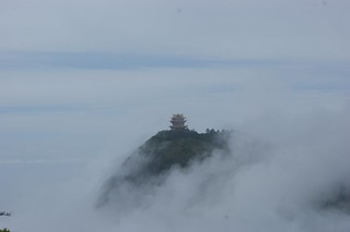Small Temple in Cloud Sea