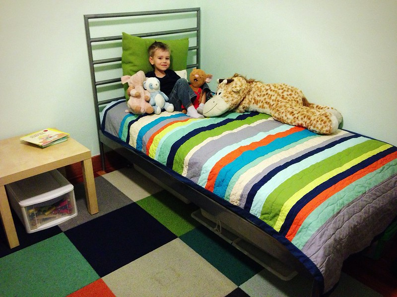 Jude's Stripe Quilt - all done!
