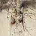 茄子.水彩、木炭、紙本.62.5x46.5cm.2012