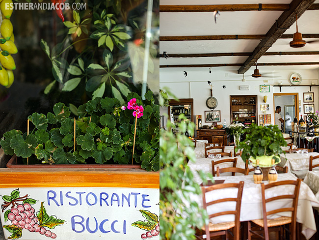 Ristorante Bucci Castel Gandolfo When in Rome Day 2 | What to do and see in Rome in 48 hours | Travel Photography