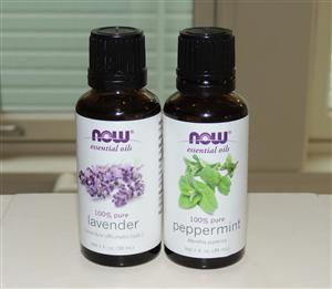 peppermint lavender essential oils