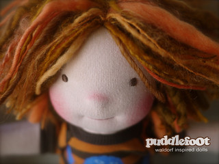 "2nd JULY CUSTOM SPOT: 12"" Puddlefoot Doll"