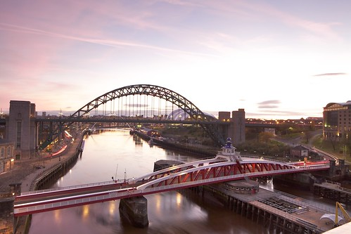 sky water sunrise newcastle sage gateshead tynebridge 5d swingbridge rivertyne