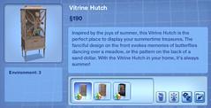 Vitrine Hutch