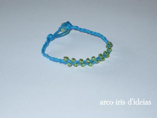 Pulseira Azul e Verde n.º 6