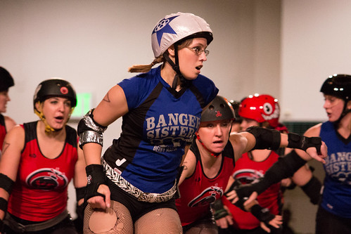 North Star Roller Girls - Lei'd out on the Track