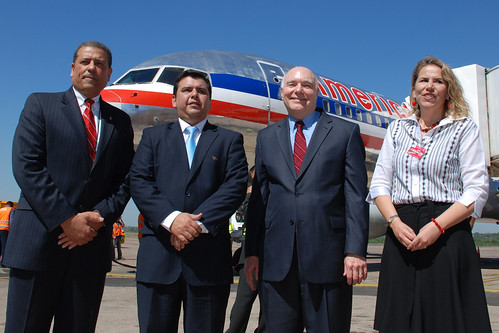 American Airlines volvió a Paraguay