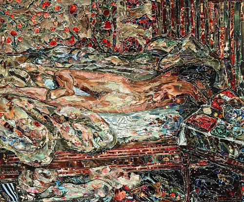 Vik Muniz, Siesta, after Bonnard, 2011