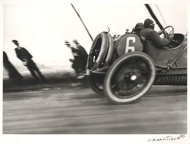 Jacques-Henri Lartigue, Grand Prix de l'AAF, 1912 © Estate of Jacques Henri Lartigue