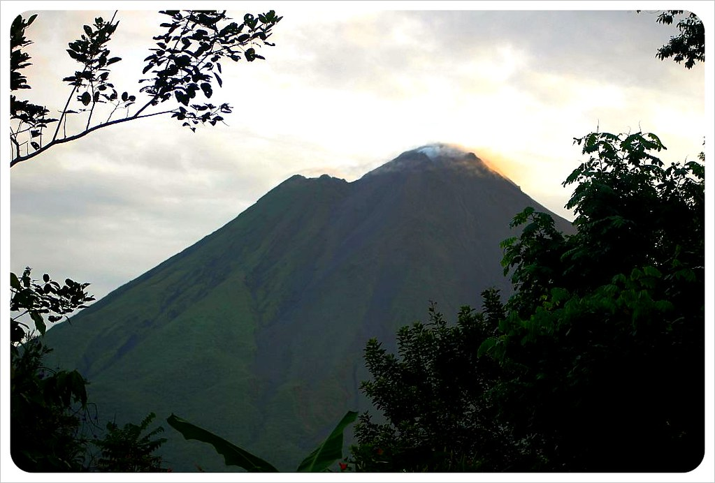 volcano arenal