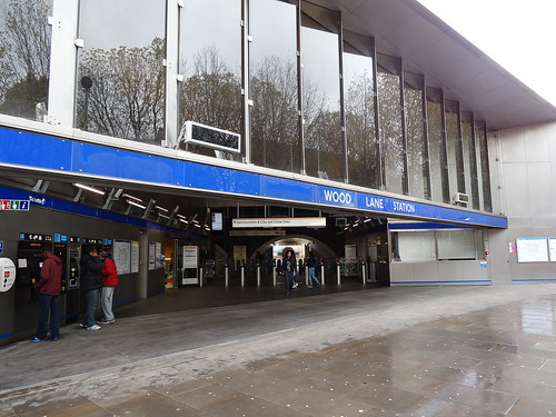 Wood Lane station entrance