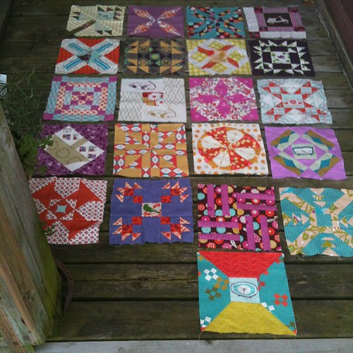 21 blocks for #ponyclubsampler. This may be my favorite project EVER!!