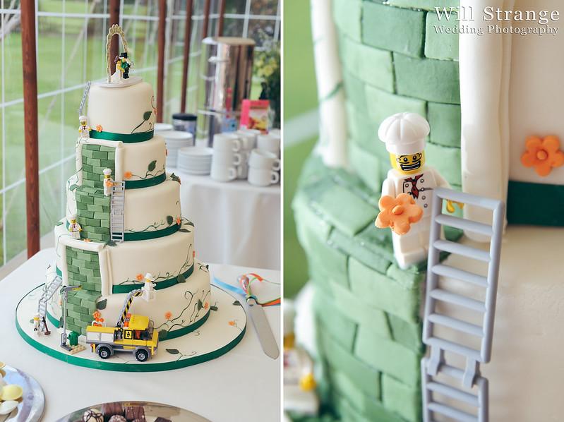Wedding cake with lego