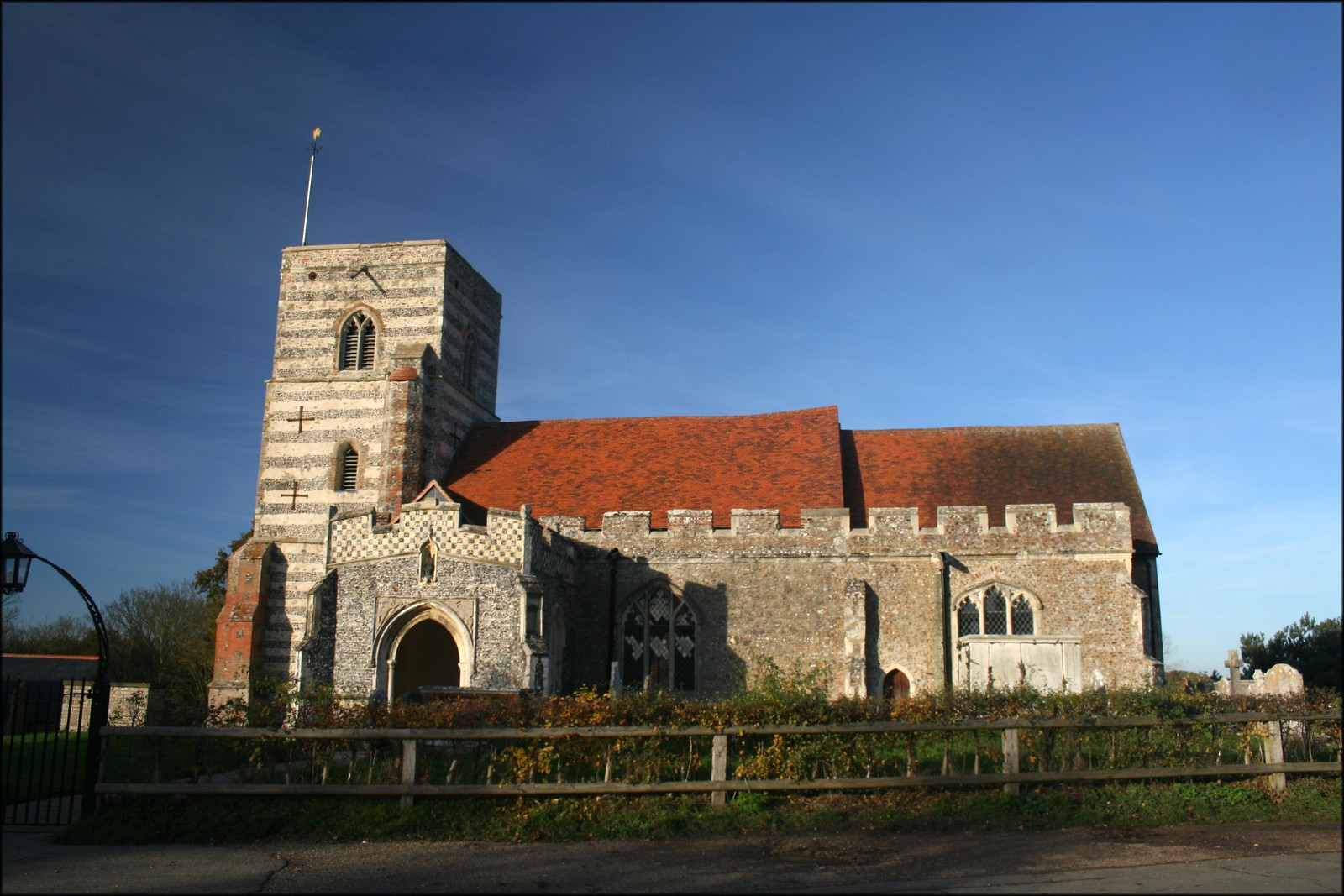 Fingringhoe church