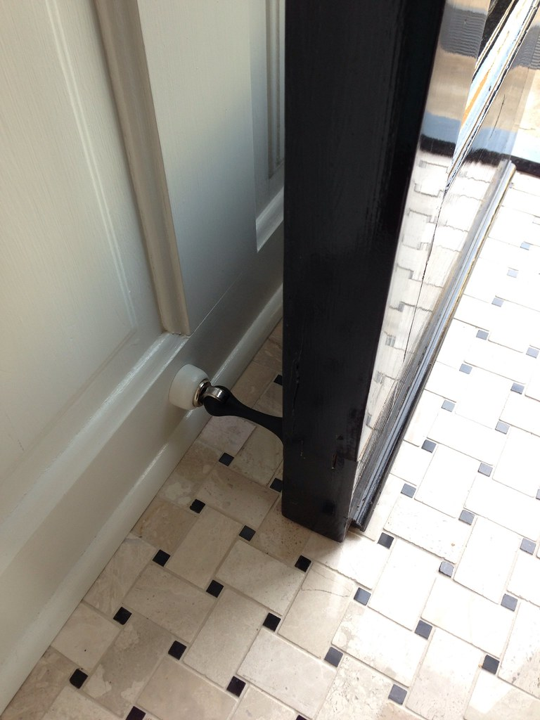 Out with a bang installing magnetic door stops old town home rubansaba