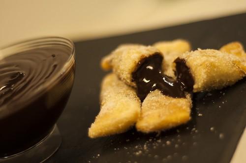 Chocolate con churros del Encuentro GetxoBlog