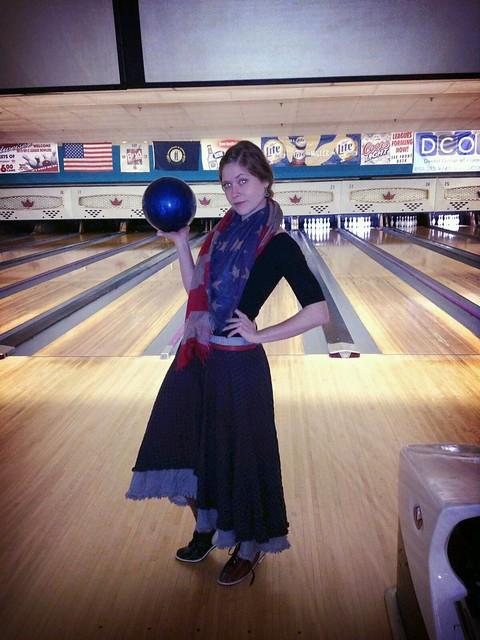Pre-Thanksgiving Bowling