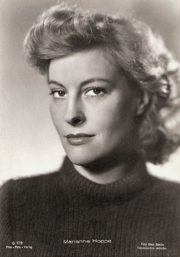 Marianne Hoppe