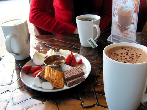 Choco Café in Halifax, Nova Scoita