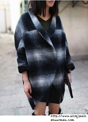 1-Buy-Street-Style-PARRY-Oversized-Coat-Blue