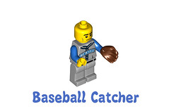LEGO Minifigures Series 10 -  Baseball Catcher