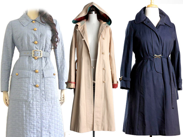 raincoats vintage fair vanity get the look