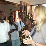 Vassula in Uganda 2010