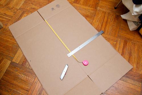 Cutting the box down