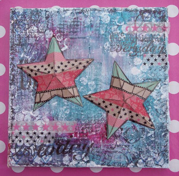 canvas stjärnor