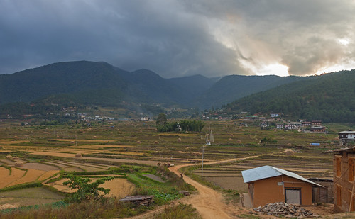 sunset landscape bhutan goldenhour 24105mm 5dmarkii