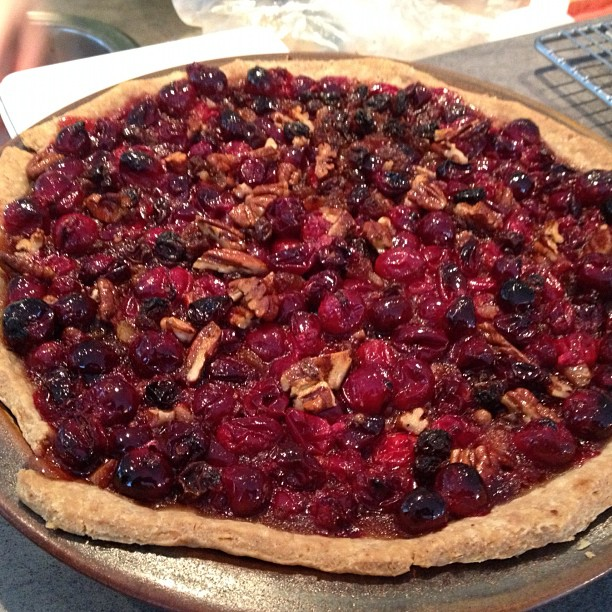 25/11.2012 - cranberry pie