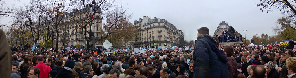 Protests in Paris