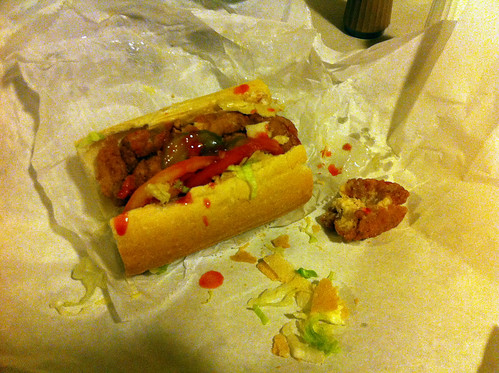 Catfish po' boy