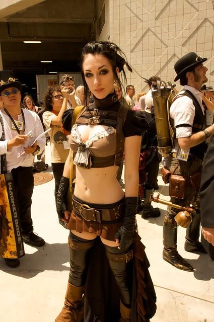 steampunk girl スチームパンク
