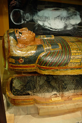 Coffins and Mummy of Irterau