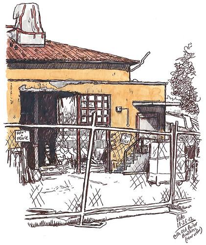 boiler building (back)