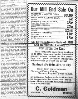 Mill End, News, 3-4-1920