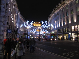 Regent St. Christmas Lights, London 2012