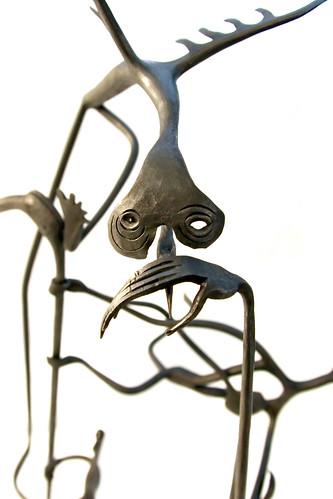 Sculpture de Simon Bertin